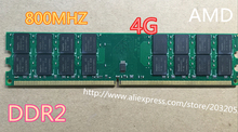 New DDR2 4GB 800MHz PC2-6400 Desktop PC DIMM Memory RAM 240 pins AMD System High Compatible