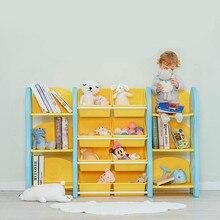 Стеллаж для хранения детских игрушек, органайзер, стеллаж, многослойные детские игрушки, шкафчик для хранения, пластиковая книжная полка
