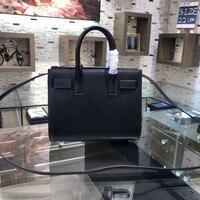 2018 Genuine leather bag luxury handbags women expanding file organ bag high quality brand fashion women messenger bag