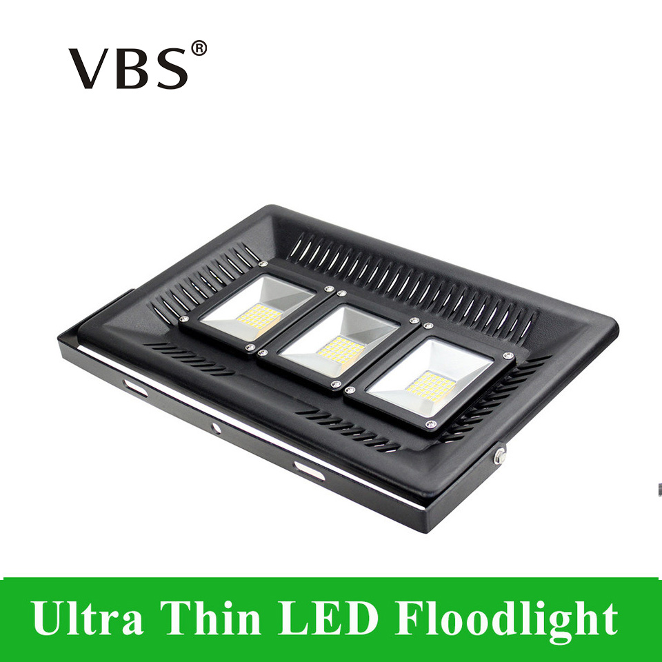 AC200-240V LED Reflector Floodlight 30W 50W 100W Ultra Thin LED Lamp IP65 Waterproof 36/42/108LEDs
