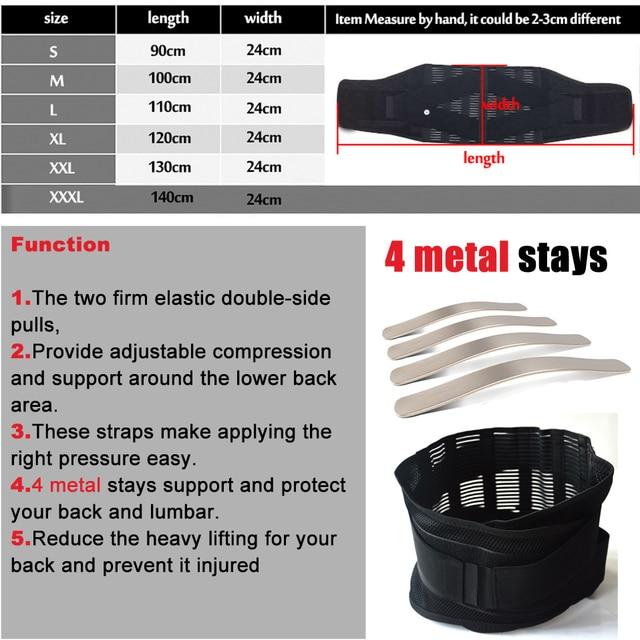 New Elastic Adjustable Orthopedic Posture Corrector Brace Lower Back Waist Trimmer Belt Lumbar Support Belt Corset for Men Women 1