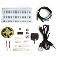 led music LED colorfule music spectrum display Electronic DIY training welding assembly parts (4)