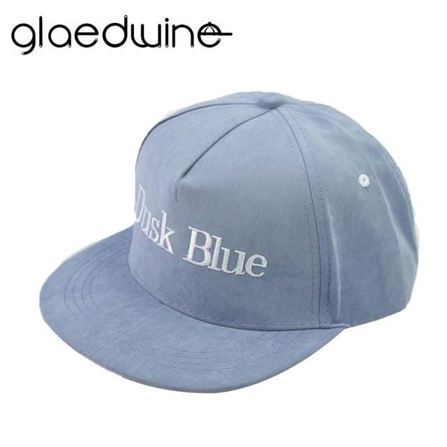 Glaedwine SENJA BIRU Katun berkualitas Tinggi topi Snapback Topi Baseball  Cap Orang Tua-anak anak 16e7cc9a06