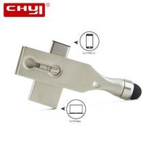 CHYI Type C USB 3 0 Flash Drive 64GB OTG Pendrive 16GB Type C 3 1