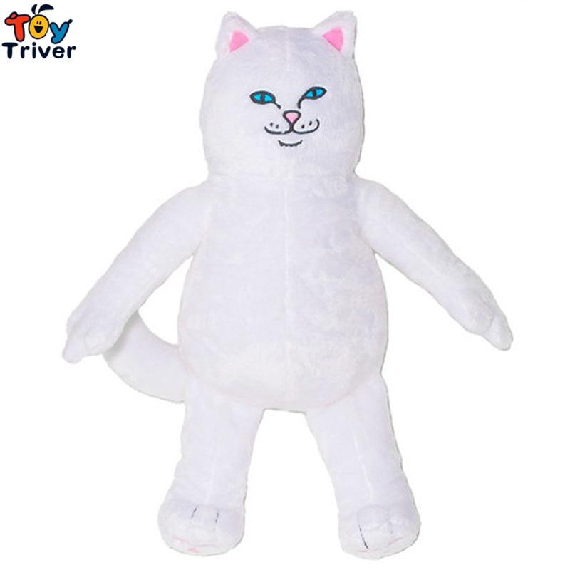 40cm Plush Lord Cat Toy Stuffed Cat Green Alien Doll Kawaii Birthday Gift Street Style Triver