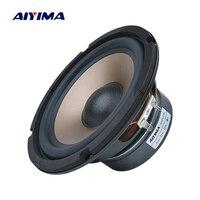 AIYIMA 6.5 Inch Subwoofer Audio Speaker 80W 4 8 Ohm High Power Fever Woofer Music Loudspeaker DIY For Bookshelf Sound System