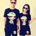 Bonito impressão mulheres roupas de verão Top t-shirt gráfico t-shirt roupas Tops roupa namorados