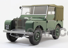 Green Car Model for 1/18 Rover Series- I LTD 1948 Minichamps Classic Collection Diecast Model Car DIY Model Customs Made