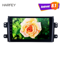 Harfey HD Touchscreen Android 8.1 for 2006 2012 Suzuki SX4 with Radio OBD2 3G WIFI Bluetooth car multimedia player AUX SWC