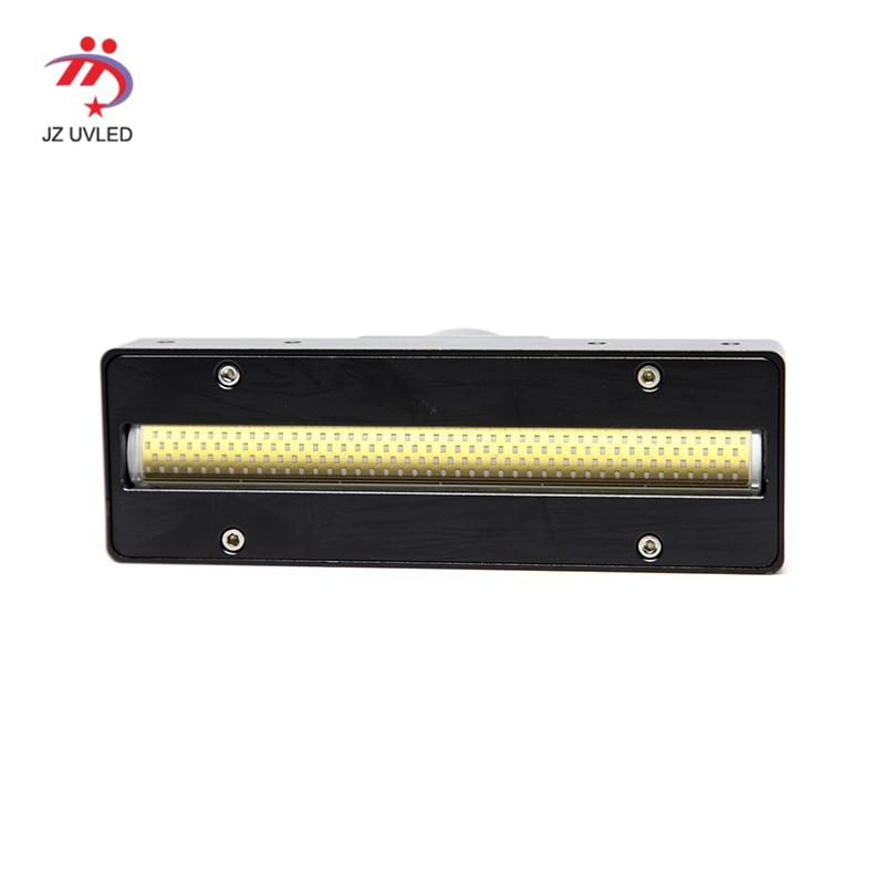 大型 Uv フラットベッドプリンタマッチングインクゲル硬化 uv ランププリンタ COB LED 高透明石英レンズ紫外線ライト -