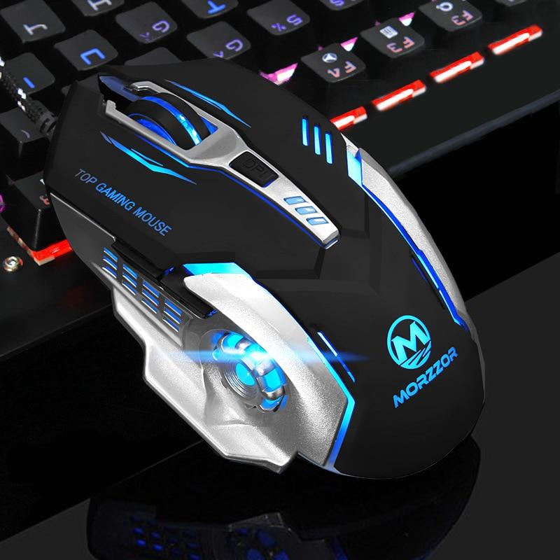 Neue 6 Taste 3200 DPI USB verkabelt mechanische Gaming-Maus-Mäuse - Computer-Peripheriegeräte - Foto 2