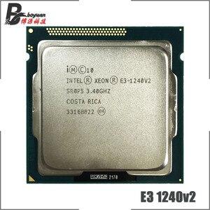 Image 1 - 인텔 제온 E3 1240 v2 E3 1240v2 E3 1240 v2 3.4 GHz 쿼드 코어 CPU 프로세서 8M 69W LGA 1155