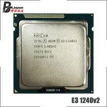 Intel Xeon E3 1240 v2 E3 1240v2 E3 1240 v2 3.4 GHz Quad Core processeur dunité centrale 8M 69W LGA 1155
