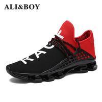 Homme Chaussures de Course Pour Hommes Unisexe Tendances Run Formateurs Noir Zapatillas Sport Chaussures Femmes Ultra Stimule En Plein Air Sneakers