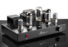 2017 New AIQIN 6N9P Push EL34 Pure Handmade Scaffolding Hi-Fi Stereo Tube Amplifier Power AMP Finished Product 110~240V Black