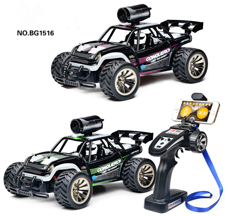 BG1516 Rc Drift Car 4wd High Speed On Road Tourig Racing Car Remote Control Car APP control car WIFI 720P camera kids best gifts image