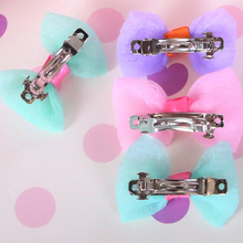 3 pieces of beautiful, trendy dog hair bows / clips