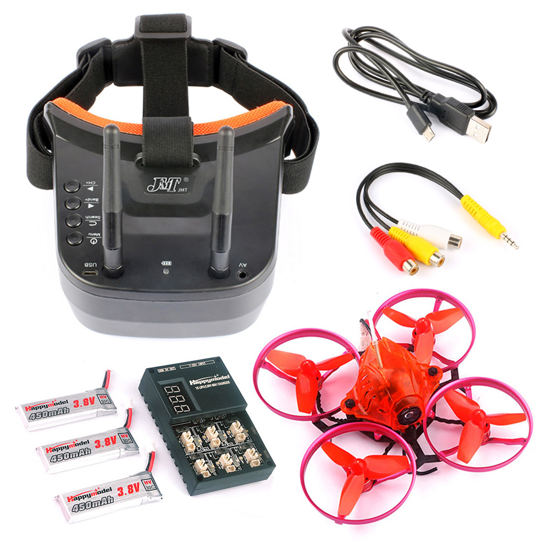 Snapper7 Brushless Micro 75mm 5 8G FPV Racer Drone 2 4G 6CH RC Quadcopter RTF 700TVL
