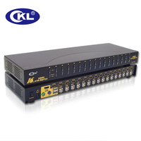 CKL 16 Port USB Auto HDMI KVM Switch PC Monitor Keyboard Mouse Switcher For Computer Server