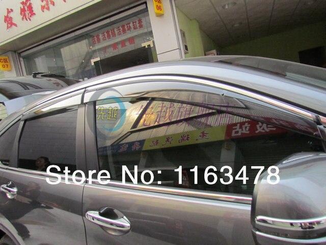 Для Honda CRV CR-V 2012 2013 2014 2015 2016 Ветер Дефлектор Козырек Дождь/Вс Гвардии Vent ПОДХОДИТ новый