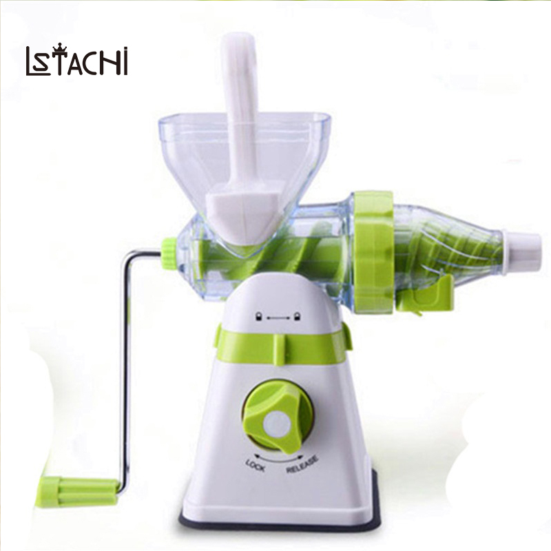 LSTACHi Juicer Manual Hand Orange Slow Juicers Lemon Extractor Machine Blend Fresh Health Juicer Machine Corn Kitchen Tools цена 2017