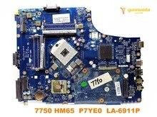 Оригинальный Для acer 7750 Материнская плата ноутбука 7750 HM65 P7YE0 LA-6911P испытанное хорошее Бесплатная доставка