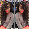 Deep Wave Peruvian Virgin Hair 3 pcs weave Bundles Deals Peruvian deep Curly hair Soft 100% Human Hair Extensions cheapest