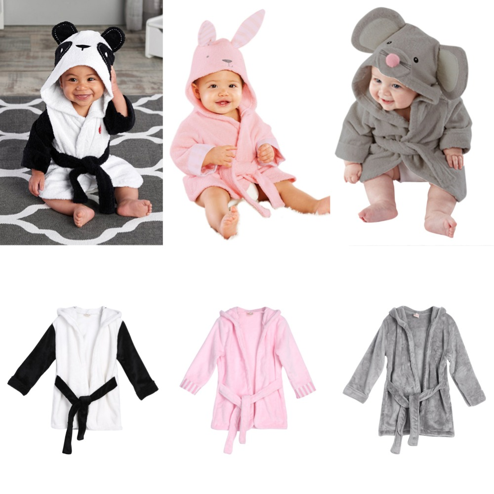 For 4-5Years Soft Baby Towels Animal Shape Hooded Towel Lovely Baby Bath Towel Baby Hooded Bathrobe <font><b>Blanket</b></font> For Newborn Infants