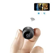 Мини-камера wifi маленькая камера беспроводная камера Full HD Встроенная батарея с детектором движения ночного видения для iPhone/Android/PC
