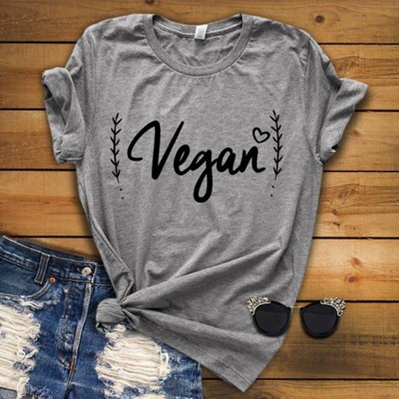EnjoytheSpirit femmes t-shirt veganisme pas de viande Vegan vie saine femmes vêtements bonne qualité mode bonne qualité mode Tee