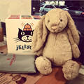 30cm Hot Baby Toys Cute Baby Kids Animal Rabbit Sleeping Comfort Doll Plush Toy Promotional  Stuffed Rabbit For Kids Gifts