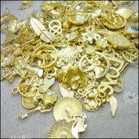 Nowy projekt 120-250 wzór mody charms mieszane 240 500szt pozłacane stop metali zawieszki diy biżuteria montaż