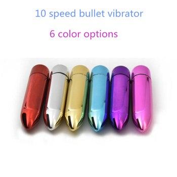 Sex Toy for Women 10 Speeds Mini Bullet Vibrator G Spot Vibration Vagina Vibrator Clitoris stimulator Female Massager Adult Toys