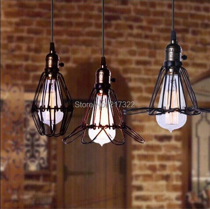 Hot Vintage Edison Průmyslové Stropní Závěsné Lampa Závěsné Osvětlení Loft Americká Země Restaurace Ložnice Lampa Evropská Retro