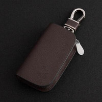 Brown Frost Car Key Ring Auto Key Cover For Mazda Jaguar Mitsubishi Toyota Peugeot Benz Volvo