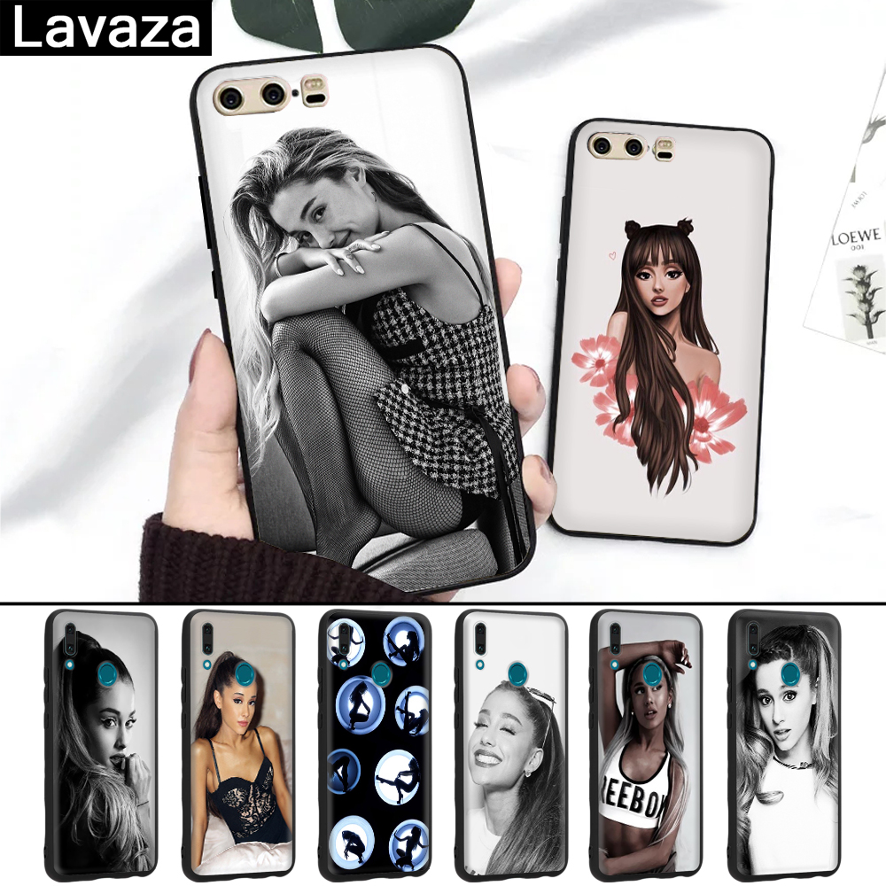 Lavaza Cat Ar Ariana Grande Novelty Fundas Silicone Case For Huawei P8 Lite 2015 2017 P9 2016 Mini P10 P20 Pro P Smart 2019 Half-wrapped Case