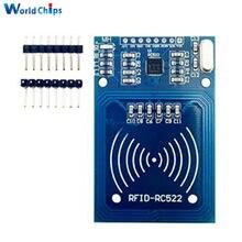 13.56mhz i2c/spi módulo sem fio rfid para arduino mf rc522 RC-522 leitor escritor módulo de cartão sensor 2 pinos 3.3v dc