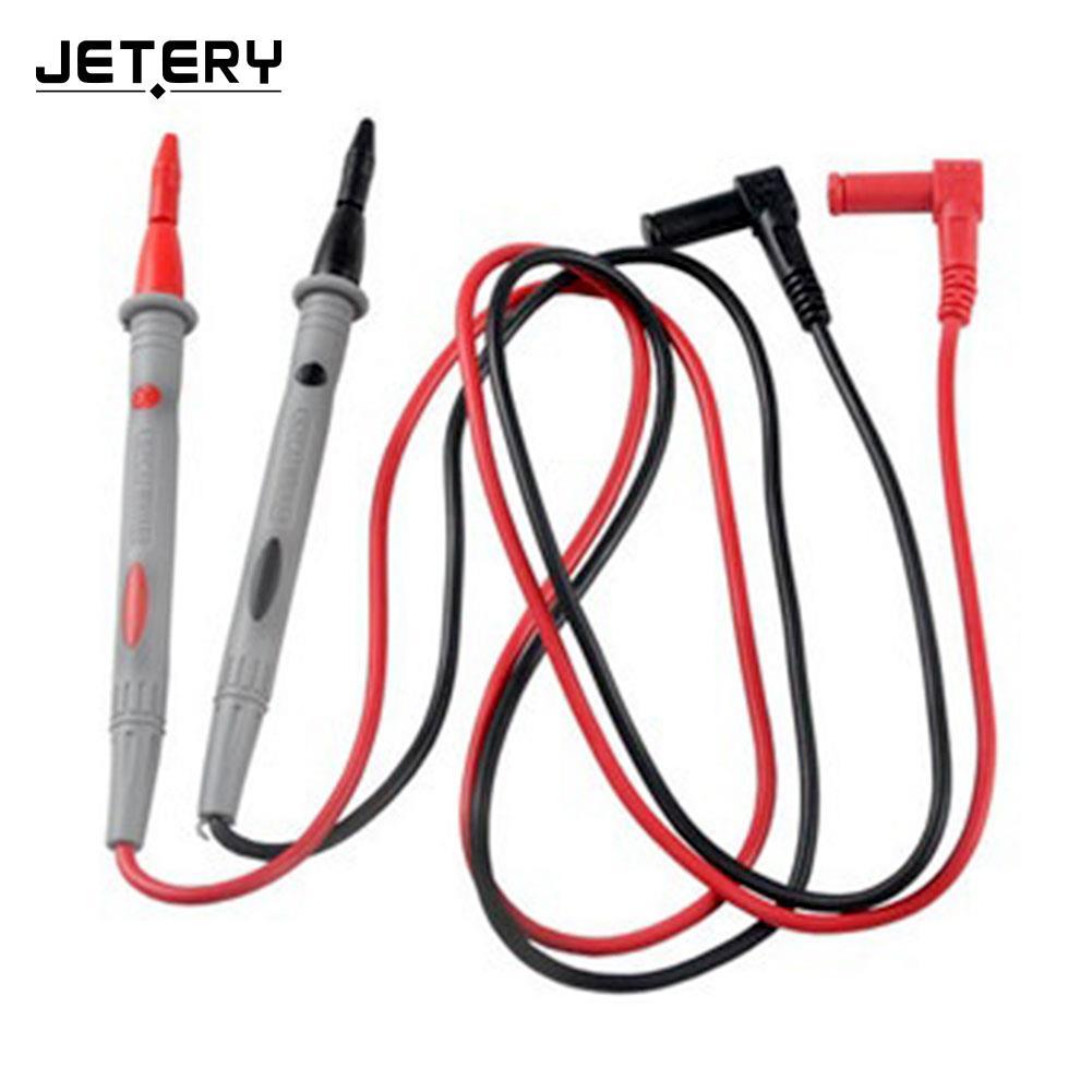1 Pair Multimeter Test Lead Digital Multi Meter Multimeter Test Lead Probes Cable 1000V 10A utl16 multimeter test lead cable red black 2 pcs