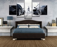 The Fate of the Furious Movie 5 Pieces Home Print Poster Canvas Painting Wall Art Living Room HD Printed Artwork