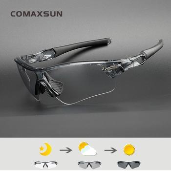 776bd41ead COMAXSUN fotocromáticos gafas de ciclismo de decoloración gafas MTB  bicicleta de carretera deporte gafas de sol bicicleta gafas UV400 bicicleta  gafas 18