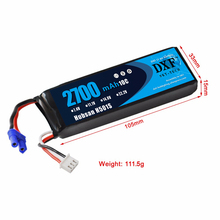2017 New Arrived DXF  Lipo Battery 7.4V 2700mah EC2 10C Max 20C Lipo battery For H501S Aircraft Airplane Quadcopter Free Shippin 2017 good quality hubsan h501s x4 rc quadcopter spare parts 7 4v 2700mah 10c rechargeable battery h501s 14 free shipping