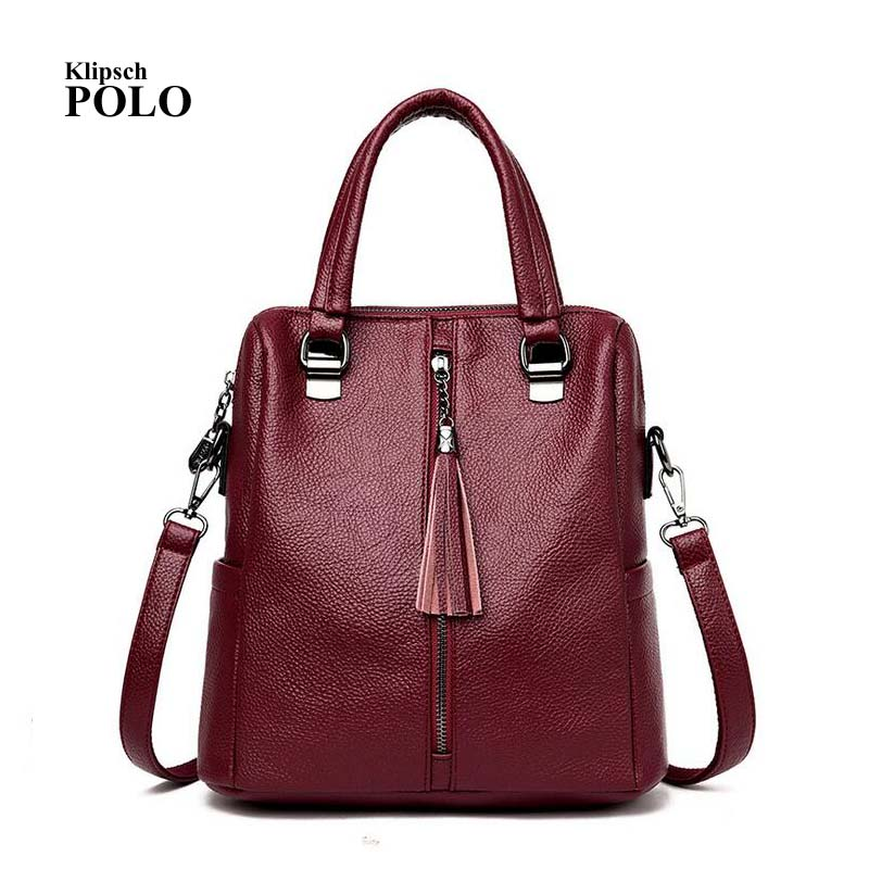 Hot Sale Women Casual Tote Bag Female Handbag Large Big Shoulder Bag for Women Tote Ladies Vintage Genuine Leather Crossbody Bag ultrathin portable 3000mah li polymer battery mobile power bank orange