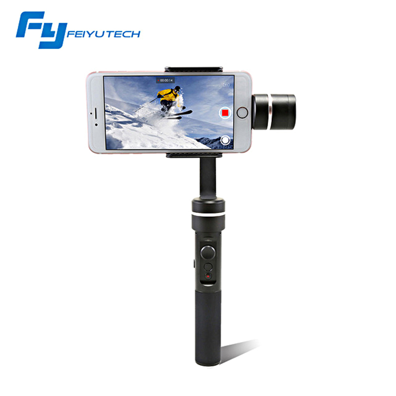 FeiyuTech SPG LIVE Stabilizer Smartphone Gimbal Which Support Vertical Shooting 360 Degree Panning Axis Panoramic shooting