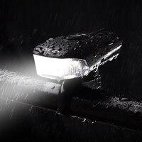 Front Lamp USB Rechargeable Handlebar LED Lantern Bicycle Smart Head Light Bike Intelligent Flashlight Movement Action