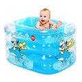 Bebé Grande Piscina Inflable Cuadrado SwimmingPpool Jugar Juegos Para Niños Juegos de Piscina Piscina de Agua a la Venta