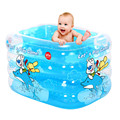 Bebê Grande Piscina Inflável SwimmingPpool Quadrado Jogar Jogar Jogos de Piscina infantil Piscina de Água em Uma Venda