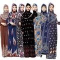 Muçulmano capa completa abaya vestido islâmico tradicional hiijab + vestido conjunto de roupas feminino árabe oriente médio ramadan oração outfits