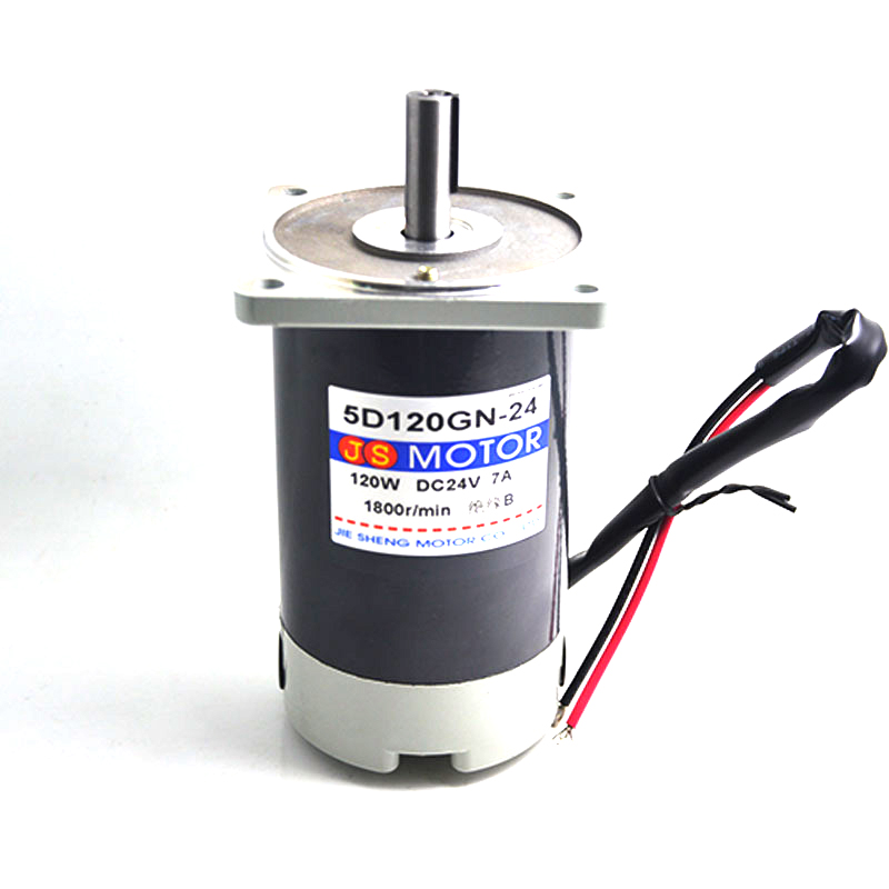 5D120GN-G-24 can speed high torque DC motor rotation speed motor 24VDC3000 miniature motor 120W Power Tool Accessories футболка lin show 367
