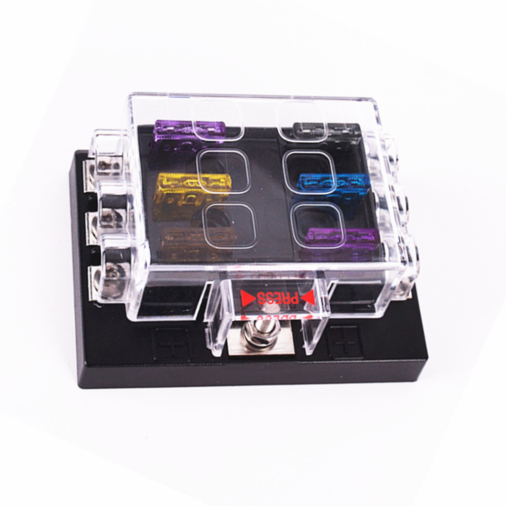 compare prices on waterproof fuse box online shopping buy low dc 32v 6way circuit car truck automotive atc ato blade fuse box holder fuse holder