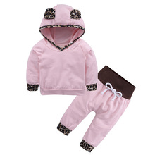 LZH Newborn Clothes 2018 Spring Baby Girls Clothes Hoodies+Pants 2pcs Kids Girls Outfit Suit Baby Girls Set Infant Clothing